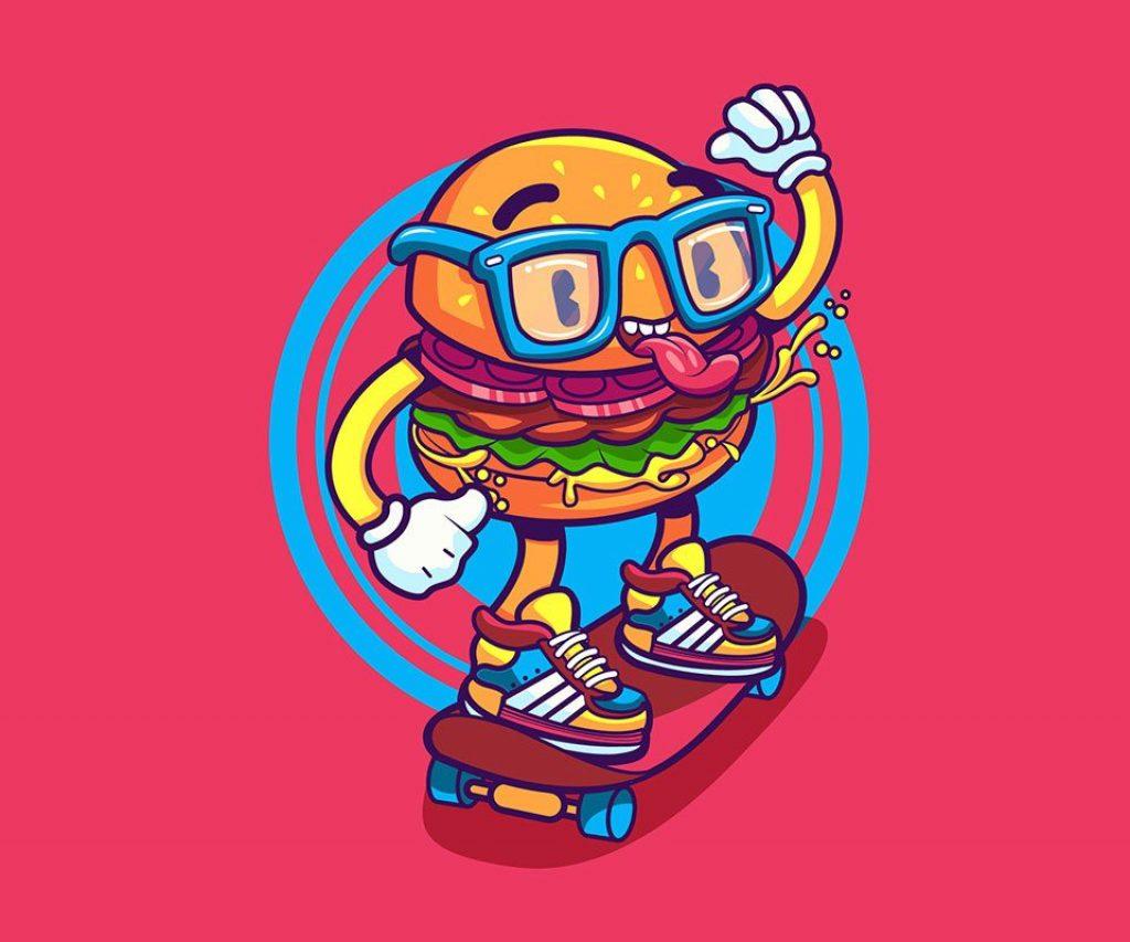 Burger Skate